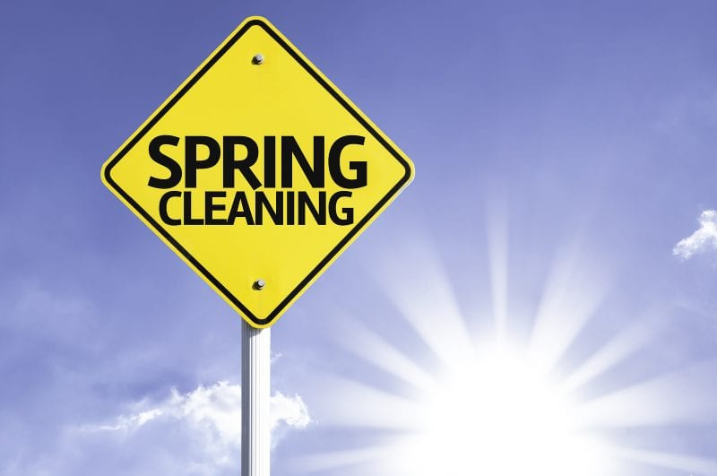 Spring Cleaning Sign