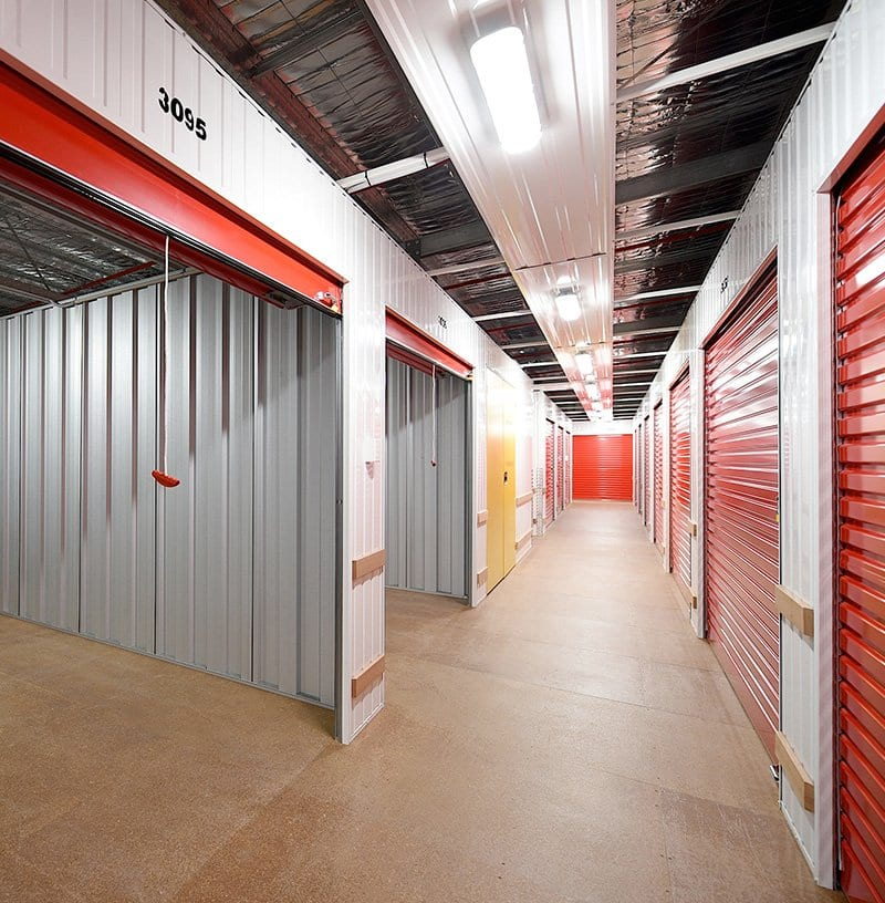 Different Storage Unit Sizes