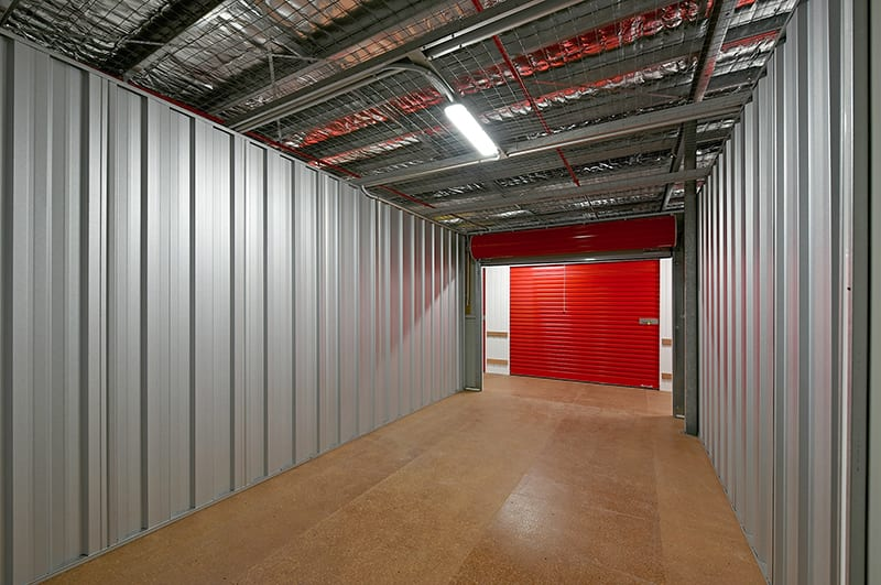 Inside Unit at KeepSafe Storage