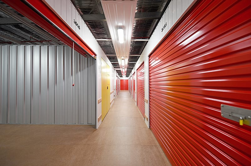 Welshpool Storage Inside Our Facility | KeepSafe Storage