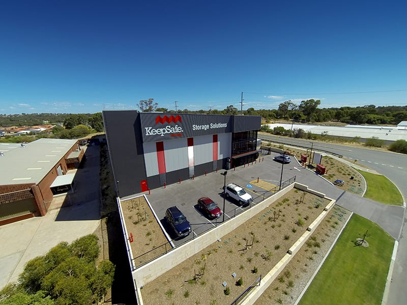 Self Storage Wangara: Birds Eye Facility View | KeepSafe Storage