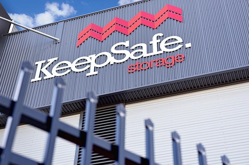 Perth Facility Sign | KeepSafe Storage