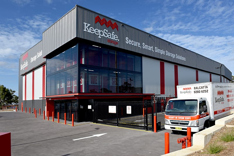Self Storage Osborne Park: Facility and Moving Truck | KeepSafe Storage
