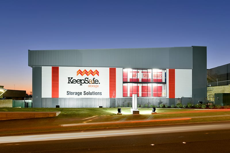 Self Storage Fremantle: Outside our Facility | KeepSafe Storage