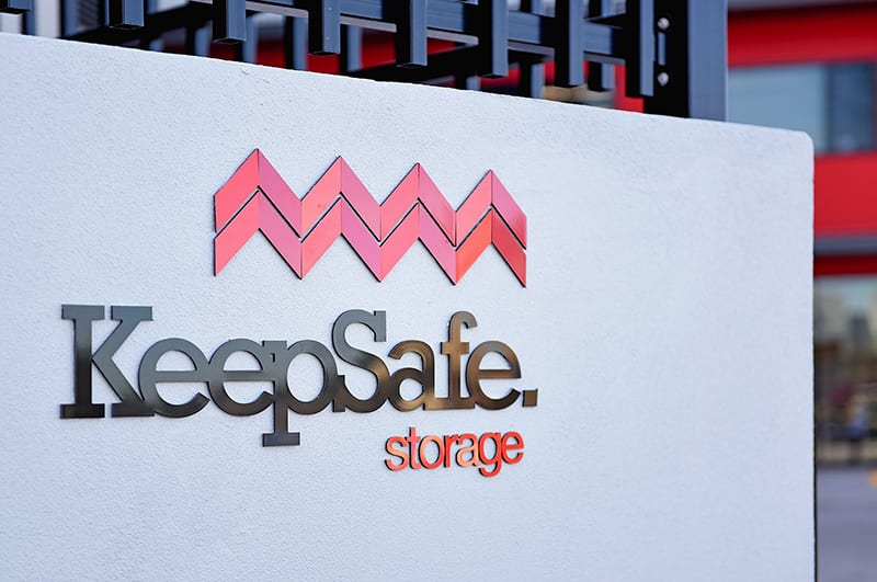 Self Storage Melville: Front Sign