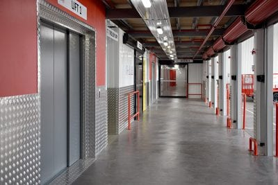 keepsafe storage lifts and trolley bay