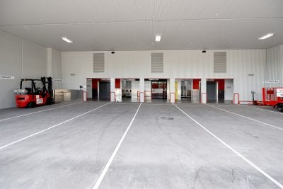balcatta self storage trolley bay and driveway