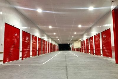 self storage facility at welshpool