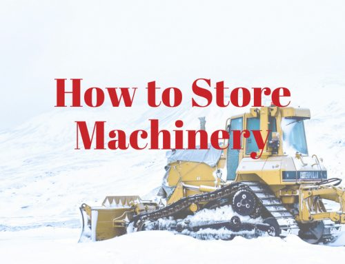 How to Store Machinery