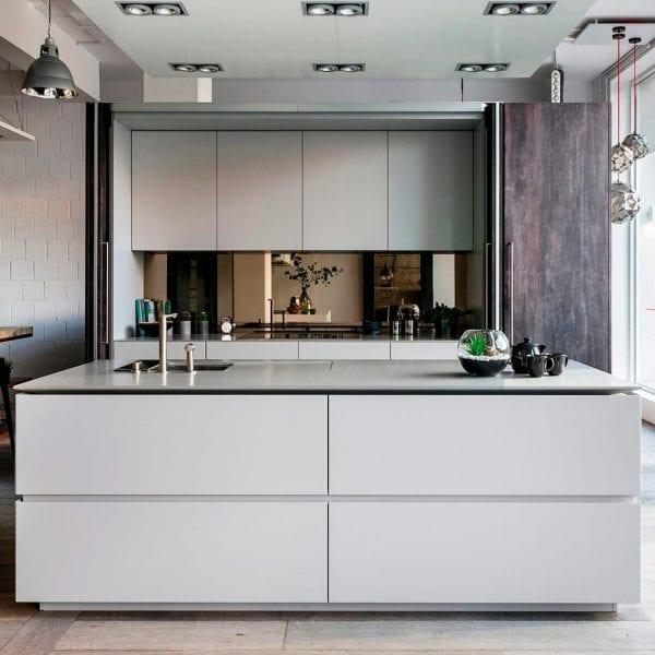a hidden kitchen