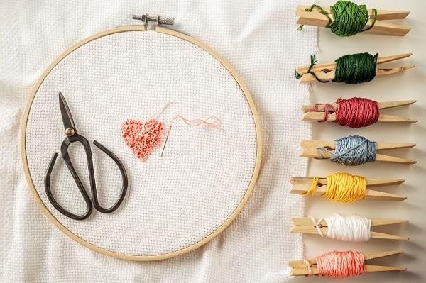 Cross stitch materials