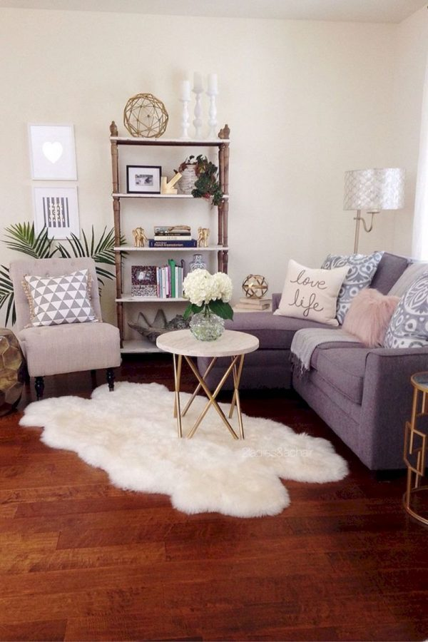 Maximising a living room space